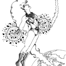 starfire inked print